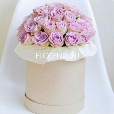 Цветы в коробке № 244